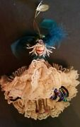 Christmas Ornament Katherineand039s Collection Doll 6 Retired Jester Dancing Girl