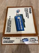 Vintage Tyco Ho Scale Maxwell House Steam Whistle In Billboard No. 934 W/ Box