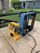 """2x42 Belt Sander Homemade Only Fit On The Dw758 8""""bench Grinder Is Not Included"""