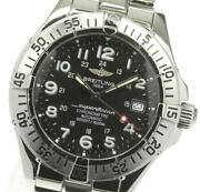 Breitling Super Ocean A17360 Black Dial Automatic Menand039s Watch_618552