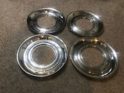 Set 15 Trim Ring Chrome Hubcaps Wheel Covers Beauty Wide