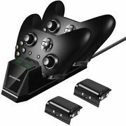 Xbox One Controller Charger With 2 X 1200mah Rechargeable Battery Packs....
