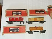 Lionel Frieght Cars 2679 Baby Ruth Box 2680 Shell Tank Car 2682 Caboose