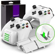Fosmon Quad Pro Controller Charger Compatible With Xbox One/one X/one S Elite...