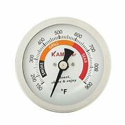 Grill Temperature Gauge For Big Green Egg 150-900anddegf Waterproof 3 1/4 Large F...