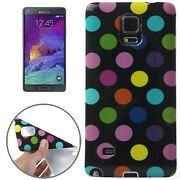 Backcover Telephone Shell Bumper Case For Phone Samsung Galaxy Note 4 Colourful