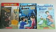 3 Mistery Books Brixton Brothers And Encyclopedia Brown Scholastic, Paperback