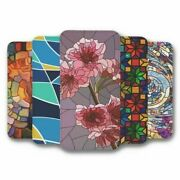For Iphone 5c Flip Case Cover Stained Glass Collection 2