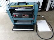 Jet Jwp-12 Benchtop 12 Wood Planer Chain Drive With Manual Works Great