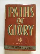 Paths Of Glory - 1st. Ed. Inscribed By Author Humphrey Cobb On Card