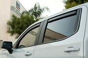 In-channel Rain Guards Wind Deflectors For Hummer H3 Fits 2006-2010 Full Set