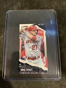 Mike Trout 2020 Topps Rip Mini Purple Image Variation Ssp Angels