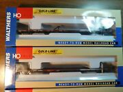 Walthers Gold Line Ttwx All Purpose Flat Cars Three Fec. 3 Cars Ho Scale