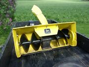 John Deere 38 Snow Thrower Blower Attachment 37a For Model 210,212 And 214