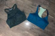 Outdoor Voices Lot Of 2 Women's Sports Bras Sz Small