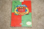 Attack Of Killer Tomatoes Nintendo Nes New Factory Sealed