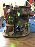 Lemax Spooky Town Last House On The Left Halloween Works Video See Details