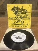 Virtue-we Stand To Fight 7andrsquo Single 45rpm Nwobhm Private Press Oth 1 1985 P/s Ex
