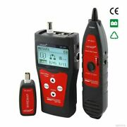 Telephone Lan Network Cable Tester / Tone Tracer Rj45 Nf-300