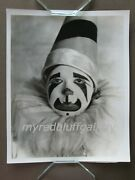 Clara Bow In Pierrot Clown Costume And Makeup For Movie Dangerous Curves 1929
