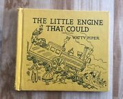 Vintage Little Engine That Could By Watty Piper 1961 Hardcover