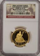 2008 W Van Buren Liberty Proof First Spouse Gold Coin Ngc Pf70 - Last One