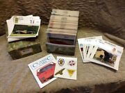 1991 Atlas Edition Classic Cars Collector Cards Approx 630 Cards In Rare Case