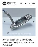 Byron Morgan Gss Dh89 Twisty - Sound Slot - 365g - 35andrdquo - Tour Use Prohibited