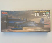 Academy Hobby Model Kits F6f-3/5 Wwii Usn Fighter Scale 172 New/sealed