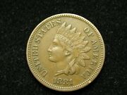 2021 Sale Xf-au 1881 Indian Head Cent Penny W/ Full Liberty And Diamonds 115p