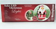 Westinghouse Holiday Poly Santa Solar Led Christmas Lawn Lights Incomplete