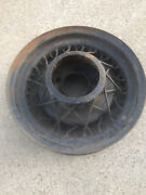 1935 Ford Kelsey Hayes Wire Spoked Rim Wheels 16 X 4 Good Used 35