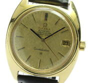 Omega Constellation 168009 18k Yellow Gold Cal.564 Date At Menand039s Watch_578000