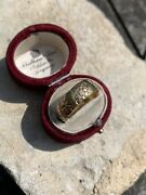Chunky Antique 9ct Gold Band Ring