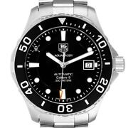 Tag Heuer Aquaracer Limited Edition Black Dial Steel Mens Watch Wan2114