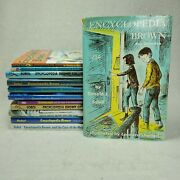 Lot Of 12 Encyclopedia Brown Mystery Books Donald Sobol Book Lot Paperback And Hc