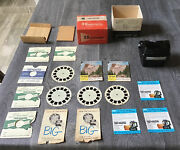 Rare Sawyer View Master Focusing Viewer Model D Tested Working With Box