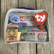 Nwt Vtg 99 Ty Beanie Babies Platinum Limited Edition Membership Collector Bag