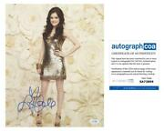 Lucy Hale Pretty Little Liars Autograph Signed And039ariaand039 11x14 Photo Acoa