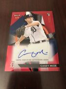 Casey Mize /5 Auto Red Refractor 2021 Topps Finest Rookies Rc Tigers Mint