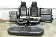 2008-2011 Mercedes C63 Amg W204 Interior Set Seats Front And Rear Black Leather