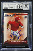 Mike Trout 2009 Tristar Prospects Plus 🔸auto🔸beckett Bgs 10🔸2011 20 Update