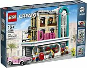 New Lego Creator Expert Downtown Diner 10260 Building Kit Retired Discontinued