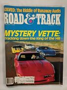 Road And Track Magazine Riddle Of Runaway Audis February 1988 M151