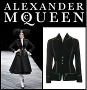 Alexander Mcqueen F/w 2008 And039girl Who Lived In A Treeand039 Military Jacket Us4 It40