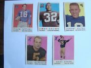 1959 Topps Football Complete Set. All Ex To Exmt Cland039s Unmkdandnbsp No Exceptions