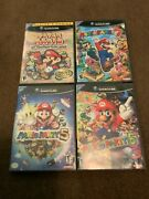 Mario Party Nintendo Gamecube Lot Plus Paper Mario And The Thousand Year Door