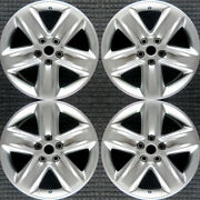 Ford Fusion All Silver 18 Oem Wheel Set 2010 To 2012