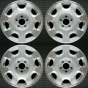 Cadillac Deville Machined 16 Oem Wheel Set 2000 To 2002
