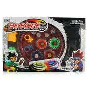 Beyblade Metal Masters Burst Fusion With Stadium Grip Launcher Set Xmas Gift Toy